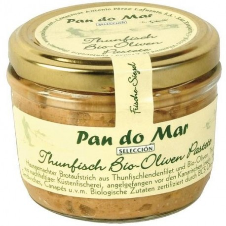 Paté de atún con aceitunas Pan do mar, 140 ml